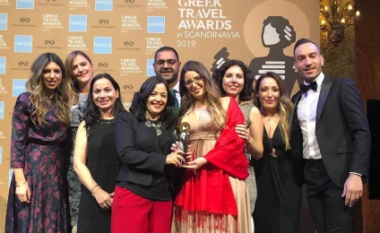 Χρυσό βραβείο για το Kallichoron Art Boutique Hotel στα Greek Travel Awards